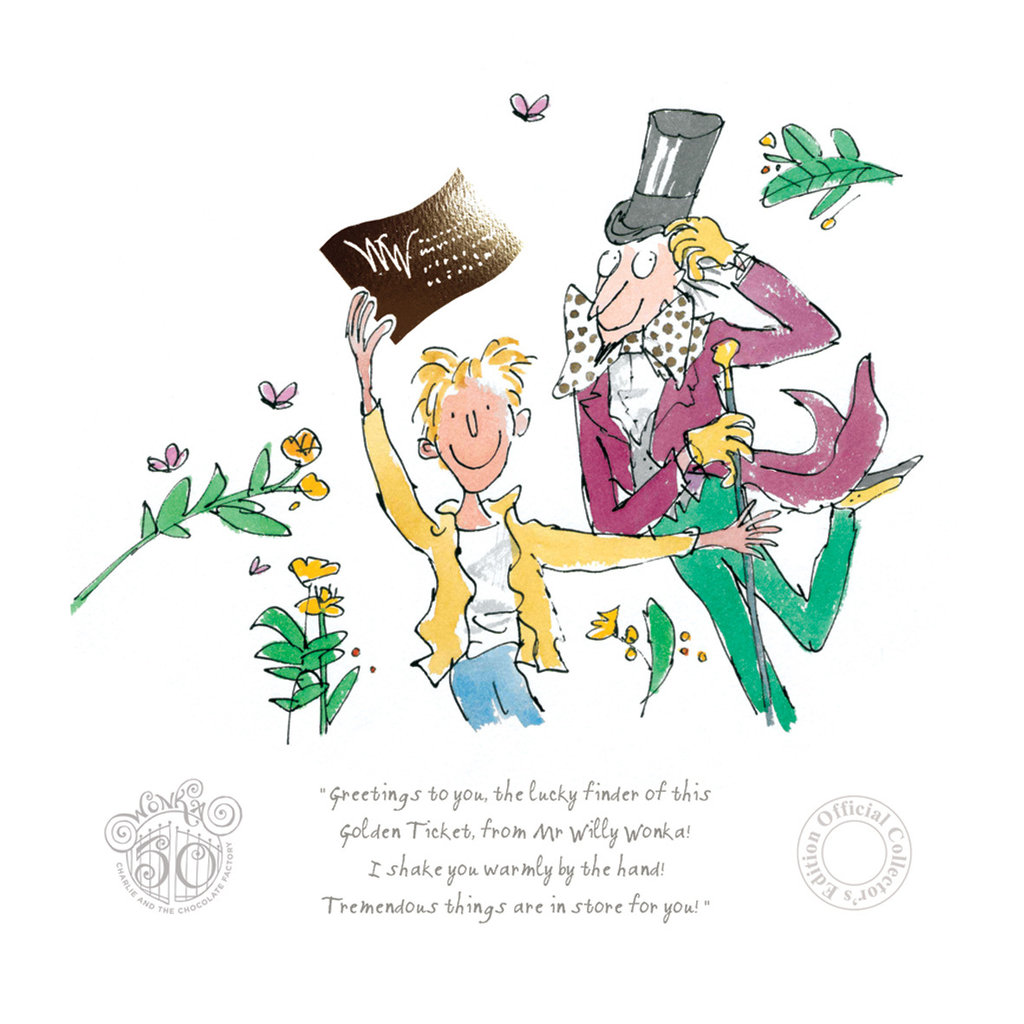 50th_anniversary-charlie-and-the-chocolate-factory-quentin-blake-collectors-edition-art-print