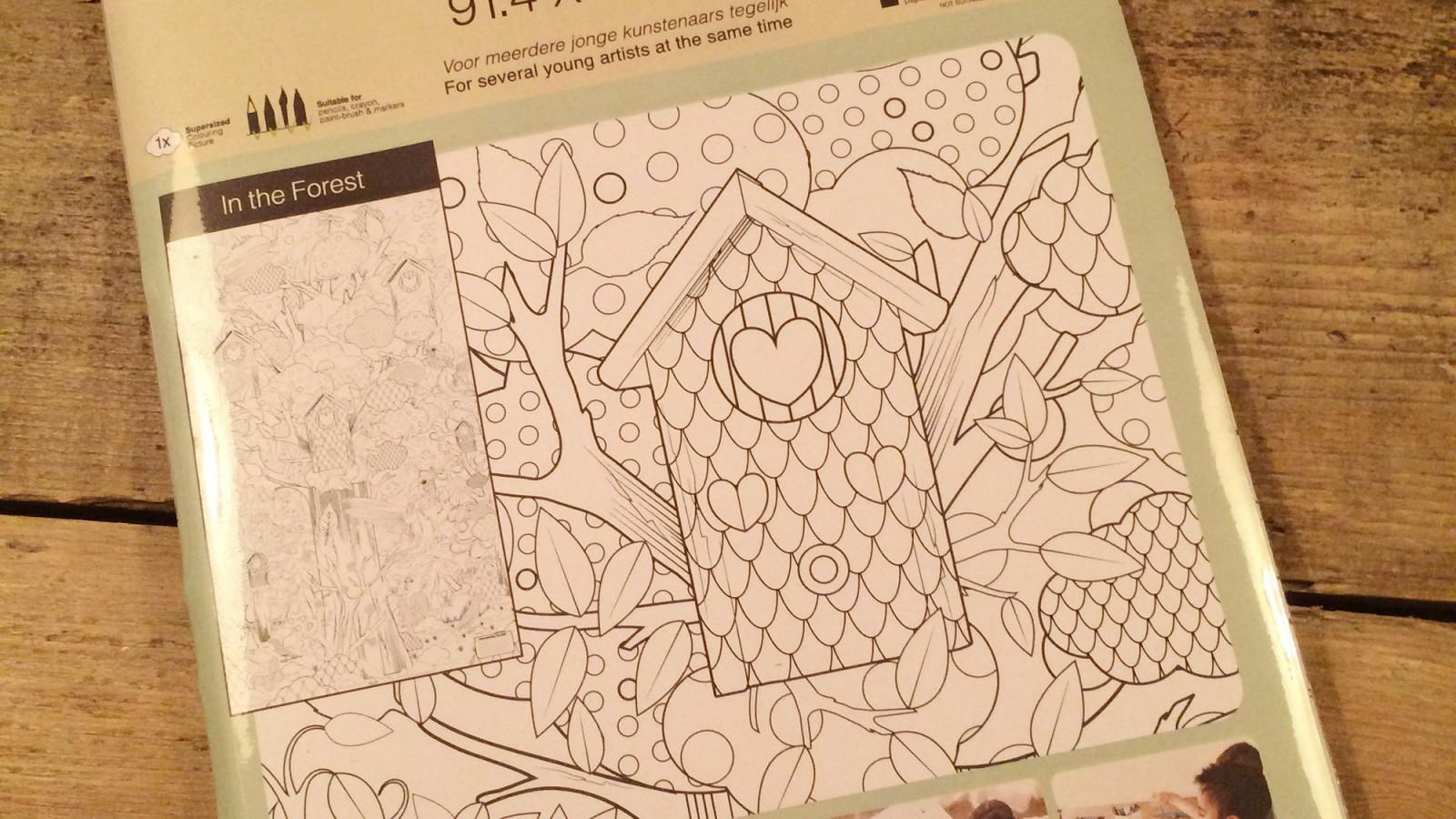 Win een reuze kleurplaat van Kek Amsterdam